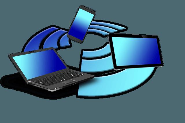 תמונה של מחשבים במעגל